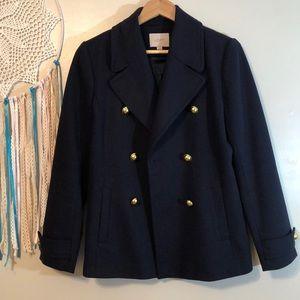 LOFT Pea Coat —>New